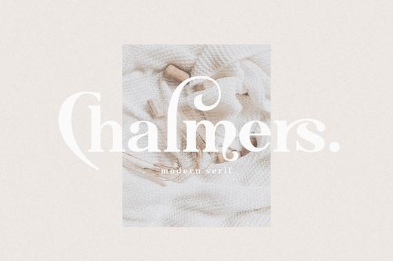 Chalmers - Modern Ligature Font