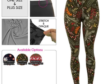 4eaf04f3e9dc68 Christmas Leggings for Women *Free Shipping*