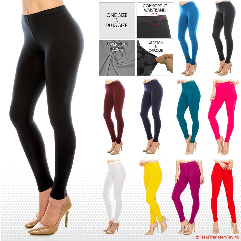 aa76f183c0d Women s Ultra Butter Soft Leggings in Solid Colors One