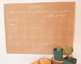 Wall Calendar 2017-2018