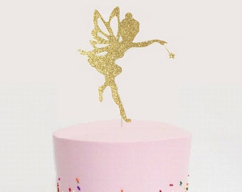 Polymer Clay Fairy Cake Topper Fairy Garden Polymer Clay