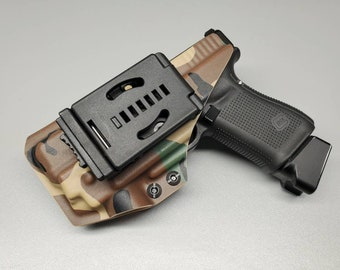 OWB Holster w/Combat Loop | Optic Cut | Adjustable Retention