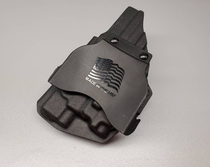 OWB Holster w/Paddle | Optic Cut | Adjustable Retention