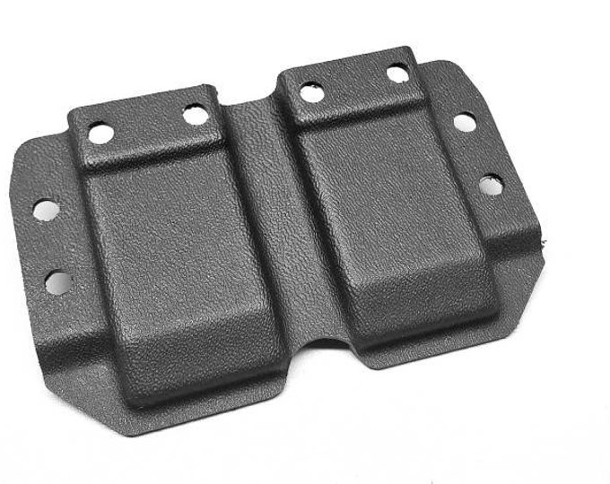 Holstermakers ONLY! Vacuum Formed MRD Double Stack 9/40 Single IWB Mag Carrier Shells, Router Trimmed