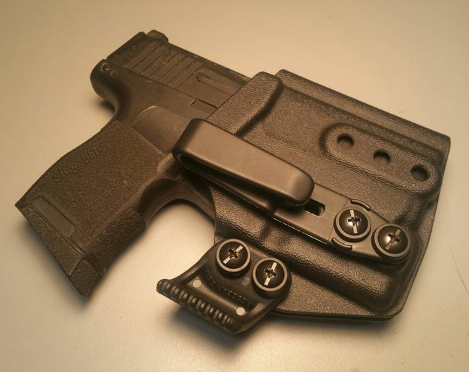 Sig P365 TLR-6! Sig P365 with Streamlight TLR-6 and Tuckable Iwb Clip(s) - Custom Kydex IWB Holster