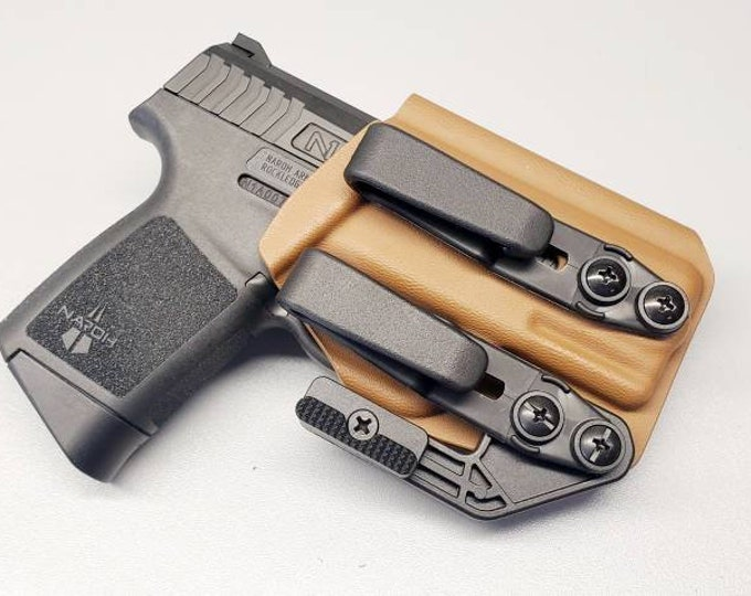 NEW! Naroh N1 IWB Holster | Custom Kydex IWB Holster with Concealment Wing and Tuckable Clip(s)