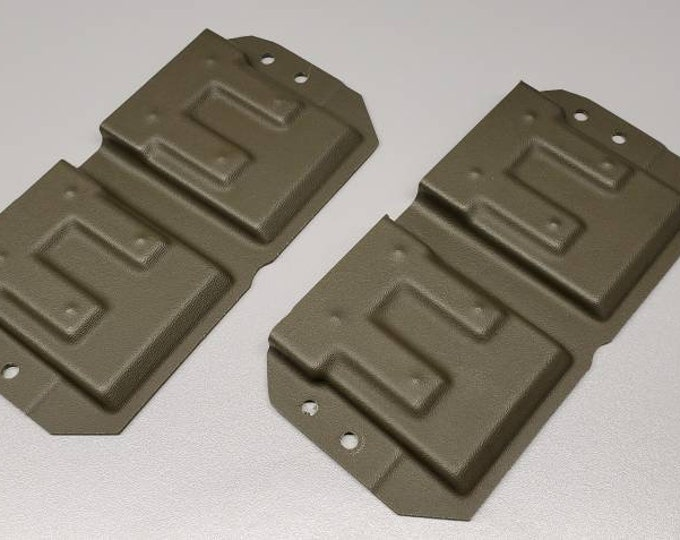 Holstermakers ONLY! Vacuum Formed MRD AR15 Single OWB Mag Carrier Shells, Router Trimmed