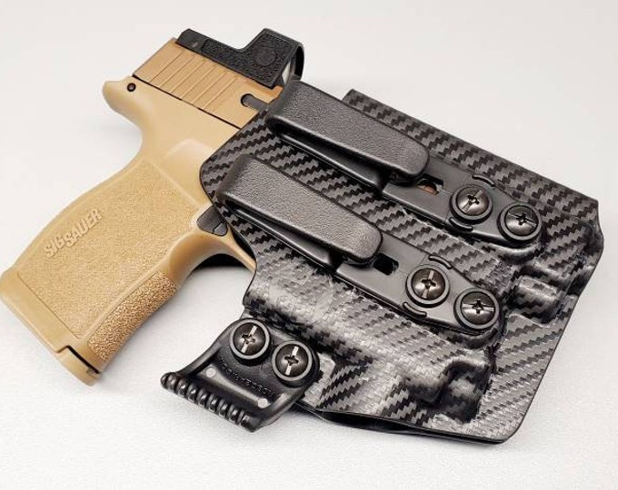 Sig P365XL with Recover Tactical Rail and Olight PL Mini 2! - Custom Kydex Iwb Holster