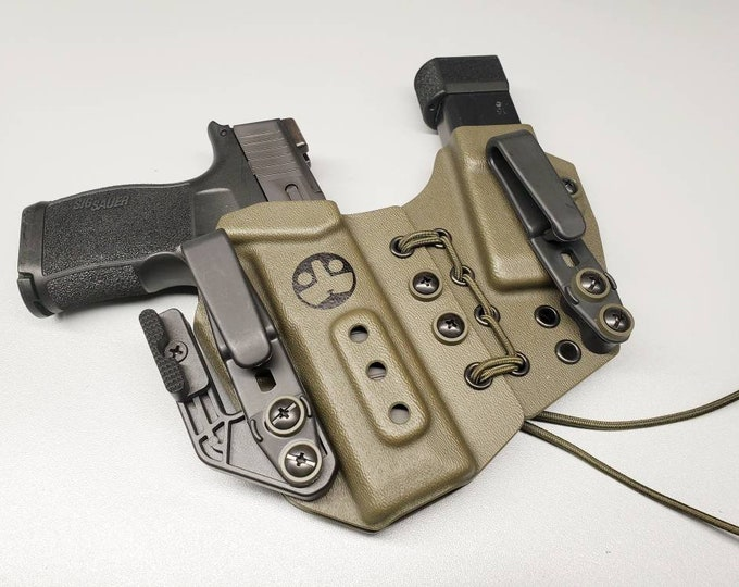 Limited Supply! Tuxton DCH-S w/ Concealment Wing- Dual Carry Holster | AIWB Pistol/Mag Combo | Several Models Available!