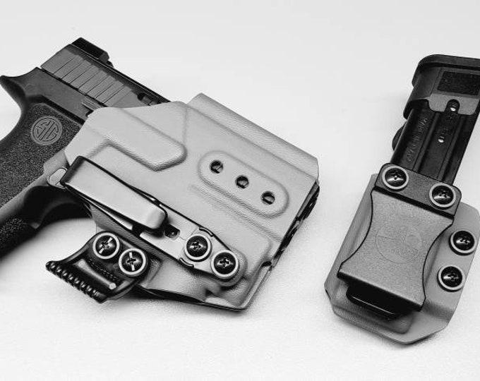 Olight PL Mini 2! Sig P320 X Compact with Olight PL Mini 2 | Custom Kydex IWB Holster