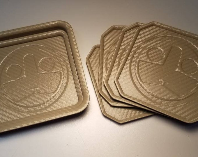 NEW! Tuxton TBC (Tactical Beverage Coaster) - Hand Made in USA!