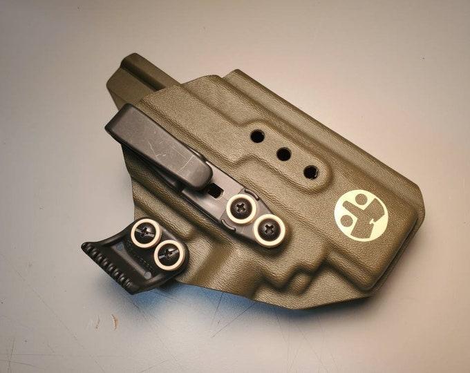 CZ P09 with Olight PL Mini (1st Gen) | Custom Kydex IWB Holster