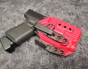 Glock 19/23/32 with Streamlight TLR-8 - Custom Kydex IWB Holster  (Glock 19 Gen 3-5 Compatible)  - Hand Made in the USA!