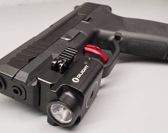 Pre-Order! Naroh N1 with Olight  PL Mini 2 IWB Holster | Custom Kydex IWB Holster with Concealment Wing and Tuckable Clip