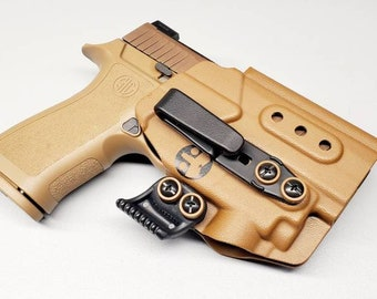 Sig Sauer P320Compact/X Carry with Olight PL Mini 2 | Custom Kydex IWB Holster