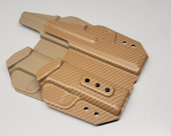 Holstermakers ONLY! Vacuum Formed IWB Holster Shells, R.C.S./TW Blocked, Router Trimmed