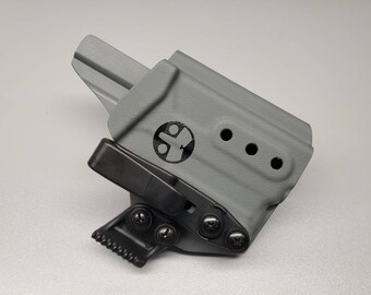 Glock 43 with Streamlight TLR-6 - Custom Kydex IWB Holster - Hand Made in the USA!