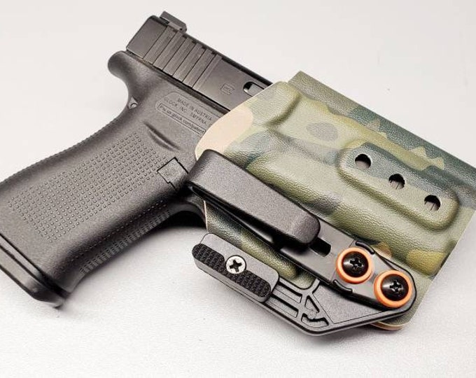 Tuxton IWB Holster (Several Models Available!) | Concealment Wing and Tuckable Clip | Hand Made in USA!