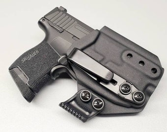 NEW! Sig P365 with Foxtrot 365 Light IWB Holster with tuckable clip and Concealment Wing