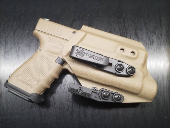 Glock 19/23/32 with Streamlight TLR-1 - Custom Kydex IWB Holster - Hand  Made in the USA!