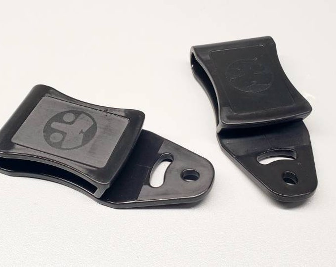 """Add-On IWB Adjustable Cant (22 Degrees) Tuckable Clip and Mounting Hardware 