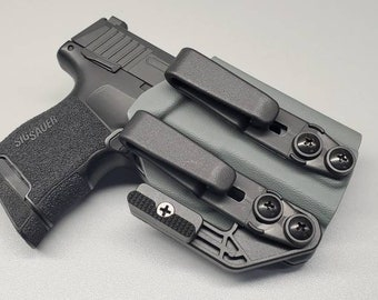 Sig P365 IWB Holster | IWB Holster with Concealment Wing and Tuckable Clip(s)