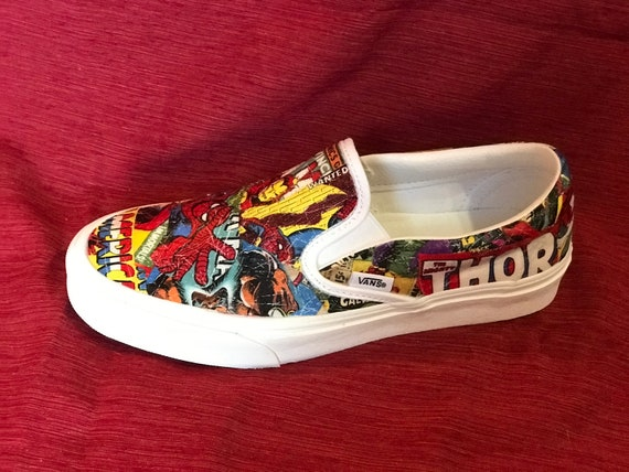 Marvel Superhero ShoesComic Book ShoesCustom SneakersSuperhero ConverseSuperhero SneakersSuperhero VansComic Book Vans