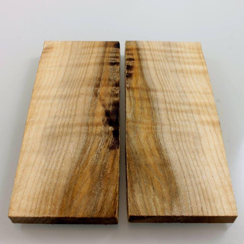 Wave Maple wood Knife Scales, Handle blank,knife making supply,exotic wood  blanks #11193