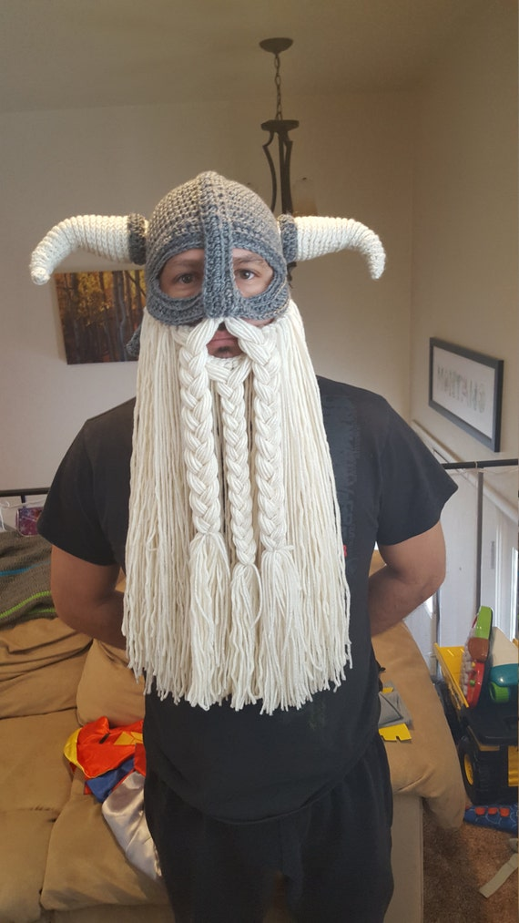 Perfect Viking Beard Crochet Pattern Collection - Easy Scarf ...