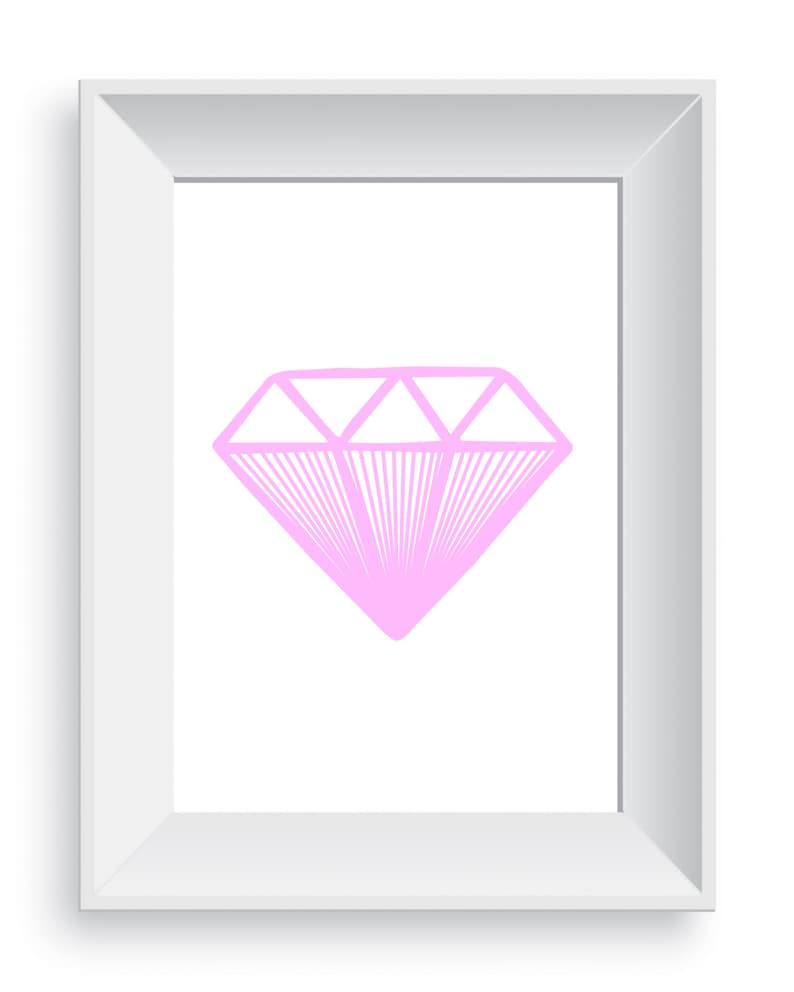 photograph about Diamond Printable named Red Diamond Printable Wall Artwork, Diamond Ground breaking Artwork, Geometric Wall Artwork, Diamond Printable, Wall Artwork, Electronic Print, Downloadable Artwork