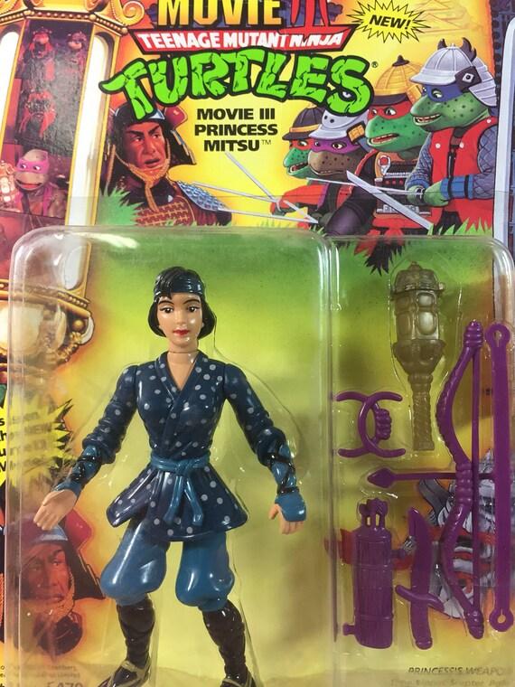 1992 Teenage Mutant Ninja Turtles TMNT Movie III WALKER Action Figure MOC