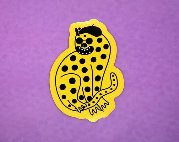Cool Cat Sticker