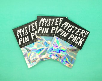Mystery Pin Pack