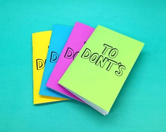 To Dont's Notebook
