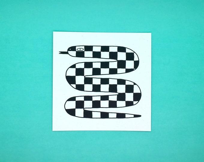 Ska Snake Print