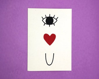 Eye Heart U Card