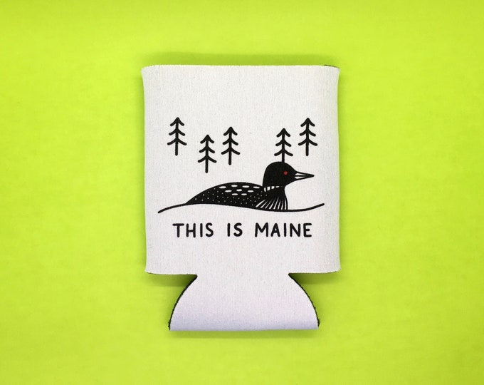 This Is Maine Beer Sleeve