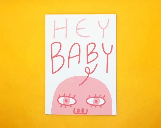 Hey Baby Card