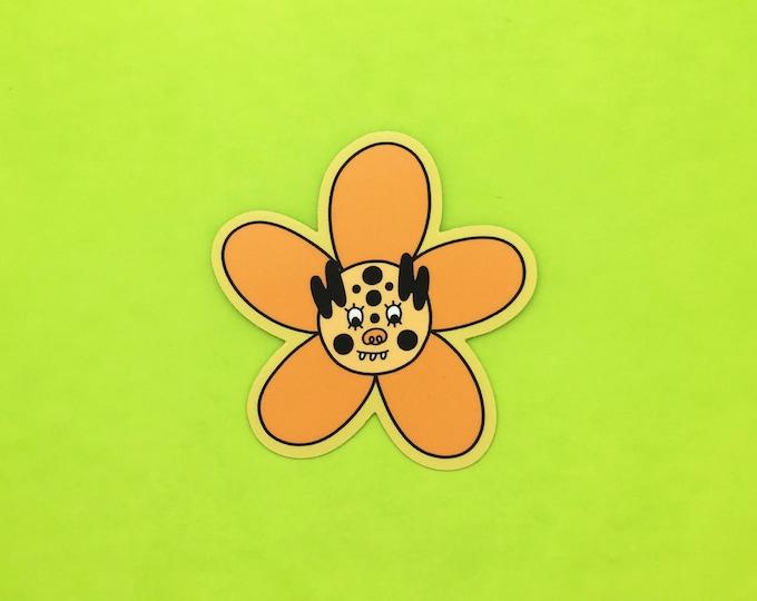 Super Bloom Tiger Sticker