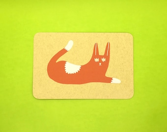 Tabby Cat Postcard
