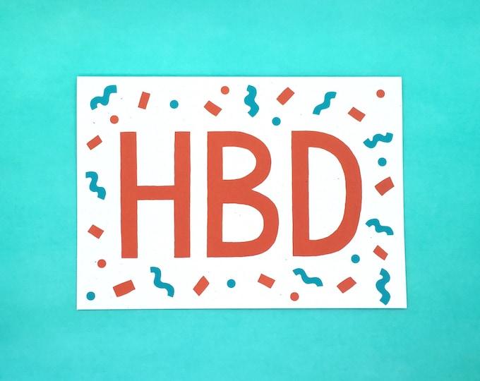 HBD Card