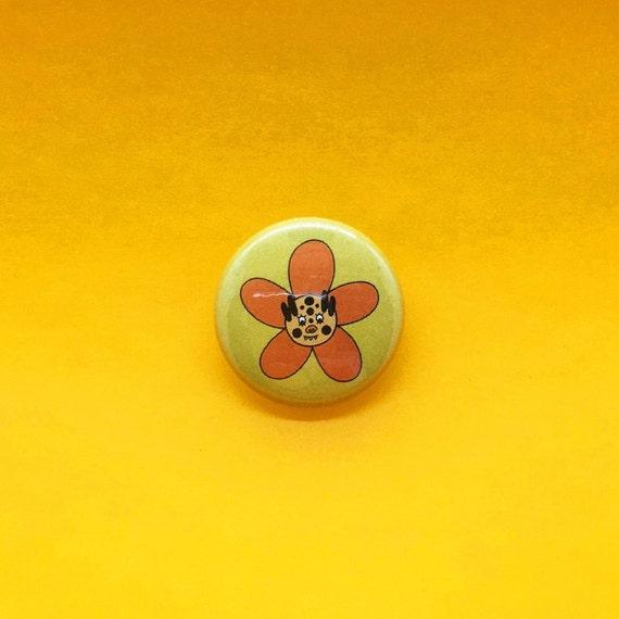 Super Bloom Tiger Pin