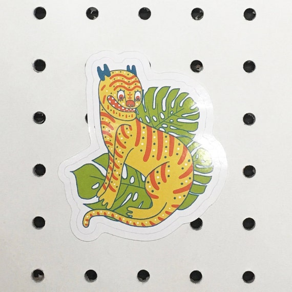 Korean Tiger Sticker