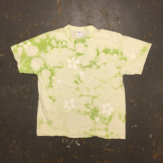 Lime Flower Power Shirt