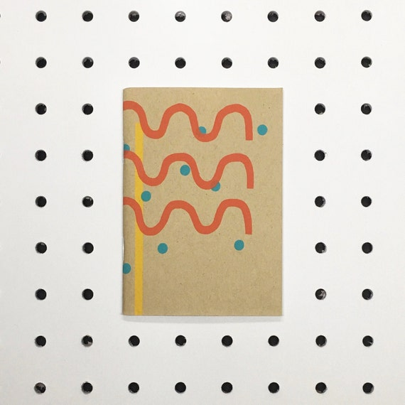 Stripes + Dots Notebook