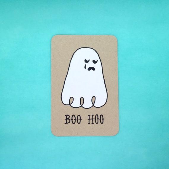 BOO HOO Postcard