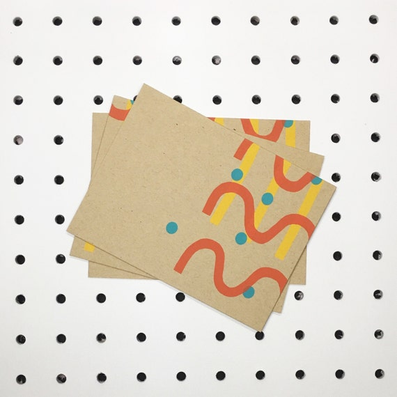 Stripes + Dots Notecards