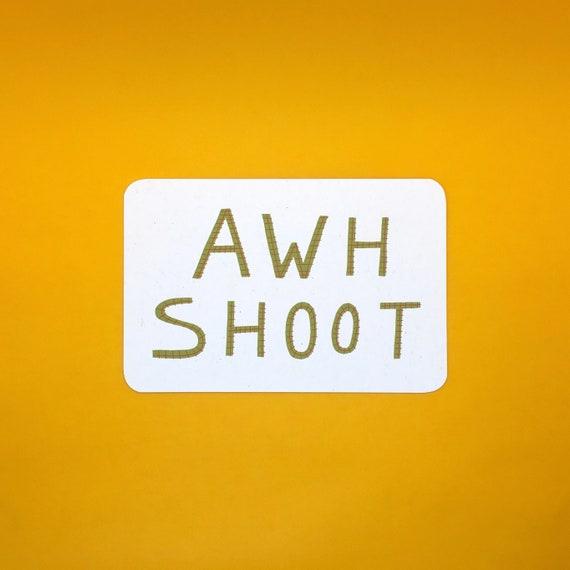 Awh Shoot Postcard