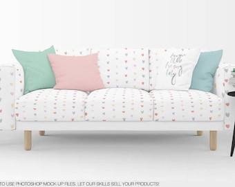 Astonishing Sofa Fabrics Mockup Pillows Cushions Sofa Pillows Etsy Andrewgaddart Wooden Chair Designs For Living Room Andrewgaddartcom