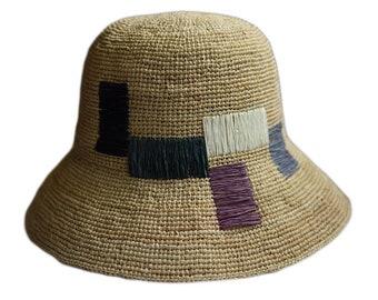 women s foldable summer straw visor wedding gift wide brim straw hat  gardening hats women s gardening hat vintage beach hat sun straw hat 184406da77c